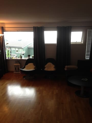 Big flat. 15 min to centrum. 15 min to airport - Bergen - Appartamento