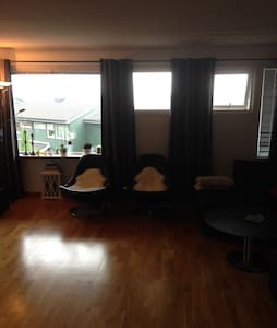 Big flat. 10 min to centrum. 10 min to airport - Bergen - Apartment