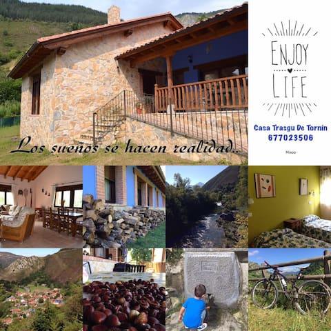 Casa Trasgu de Tornín - Enjoy life in Asturias - Tornín