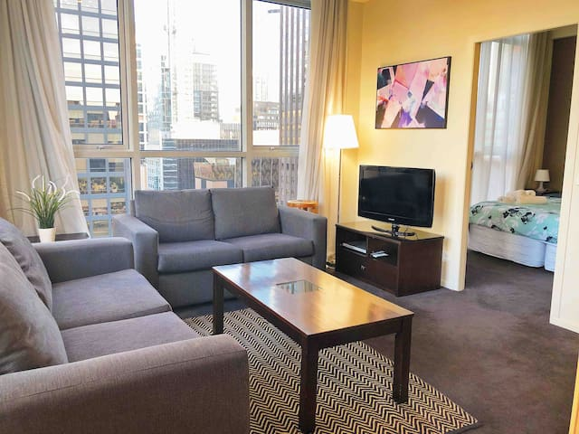 市中心舒适公寓 Comfortable apartment in Melbourne CBD