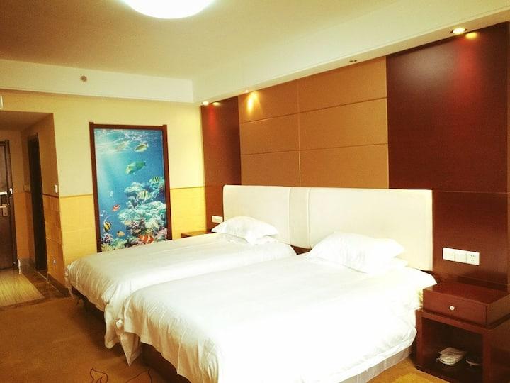 庆阳市中心小什字精装修双床东方丽景公寓