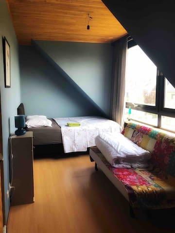 Bedroom 2 (1 double bed and one sleeping sofa)