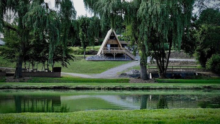 Le cottage de l'étang des sources