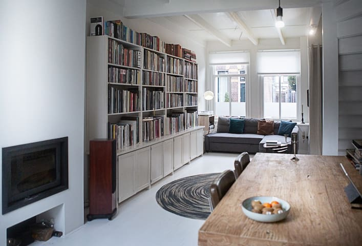 Charming old townhouse in Weesp (Amsterdam)