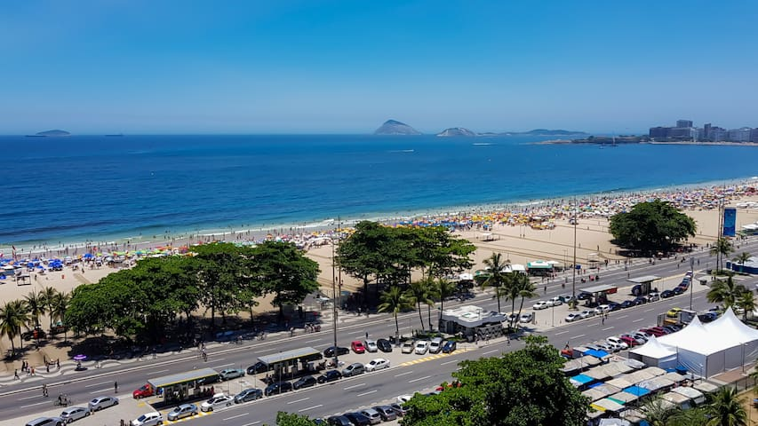 Copacabana ⚜ Panoramic View ⚜ Beach Block 🆕