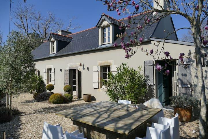 Exklusiv renoviertes Bauernhaus, Longère - Fouesnant - Casa