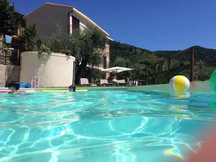 Beautiful villa with stunning views near  France