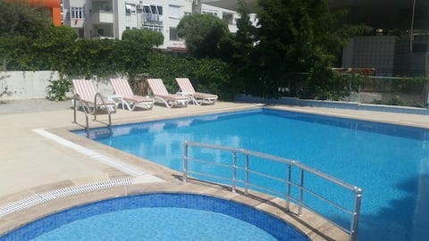 Furnished flat for daily rent in Alanya