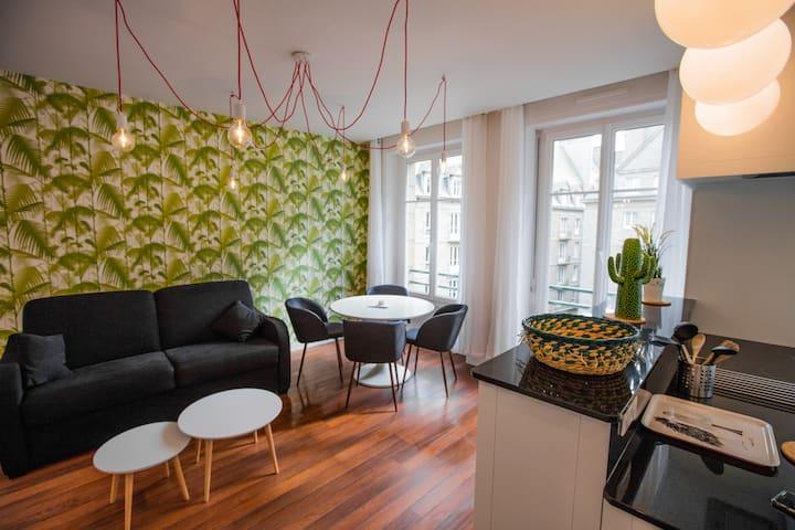 Appartement très ensoleillé intra