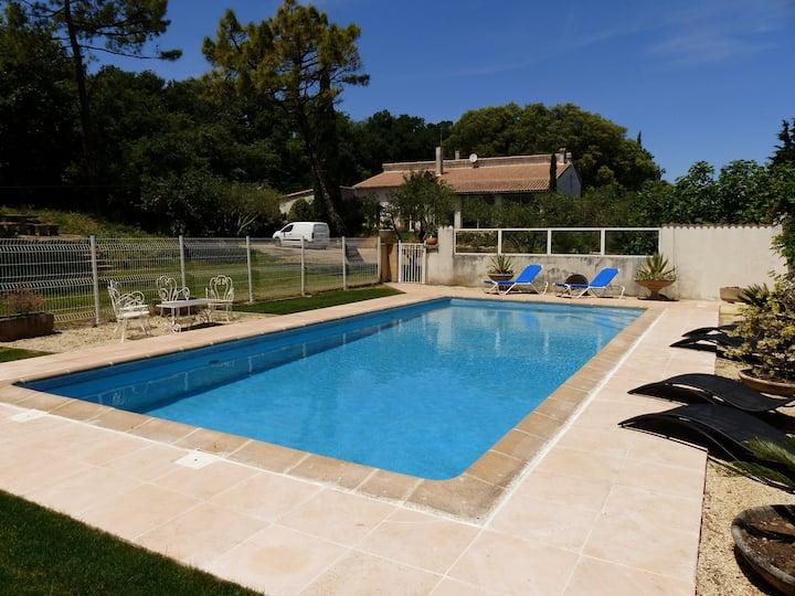 villa 170 M2 confortable avec vue sur les collines