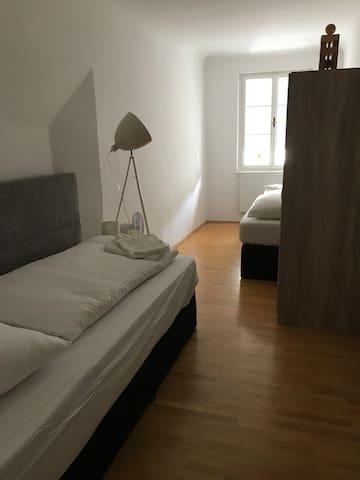 2 single bedroom  (90x180cm)