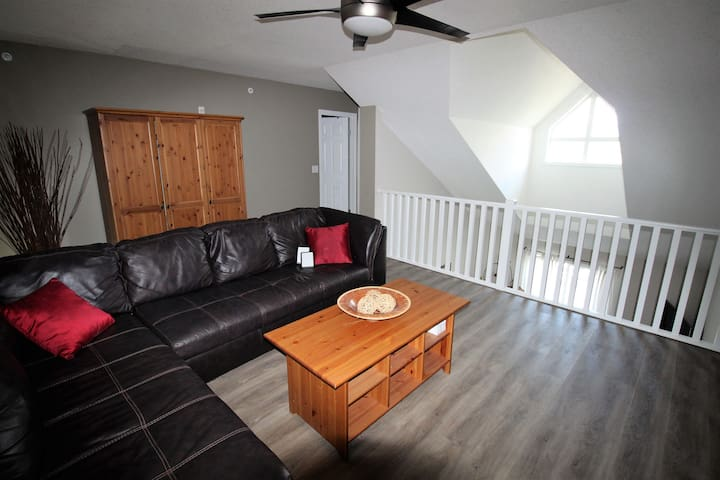 Spacious 3 bedroom condo with loft.
