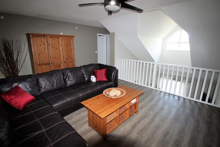 Spacious 3 bedroom condo with loft.