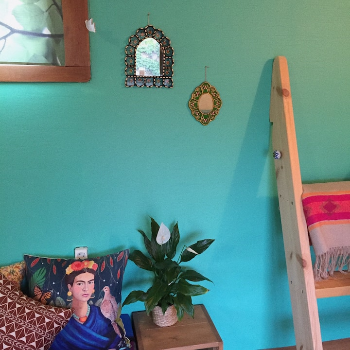Frida Kahlo : Private room (single/twin)