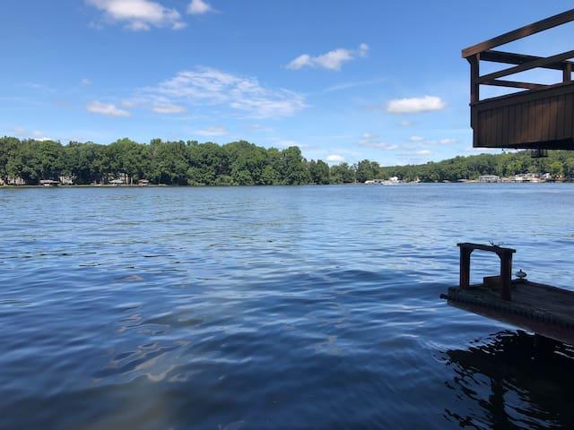 Lake Front Getaway