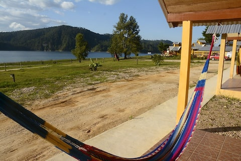 Cabaña  familiar 6 pers. en lagunas Montebello