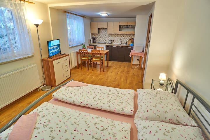 Apartmán Mona - ubytování v srdci Jeseníků