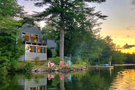 4 bedroom cottage on Perkins Pond in Sunapee, NH