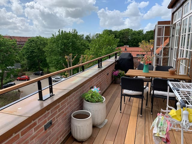 154 sqm luxury apartment in the heart of Odense