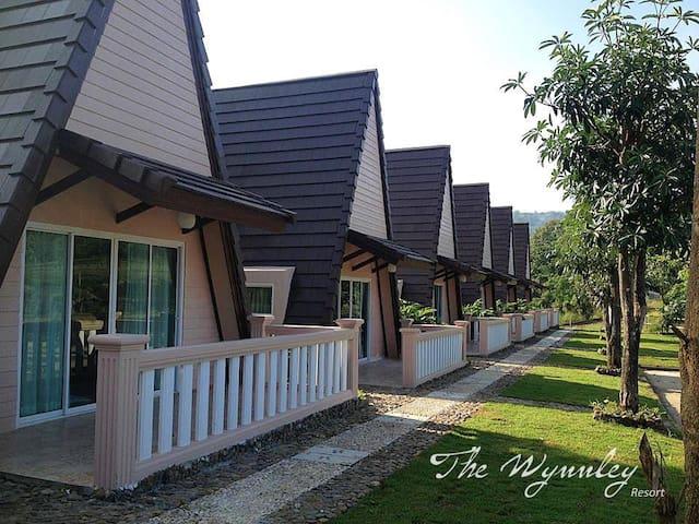 The Wynnley Resort [A2] - อำเภอ แม่วาง - Blockhütte