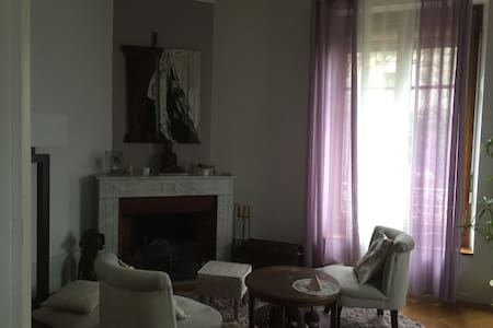 spacious room in a beautiful apartment - Genève