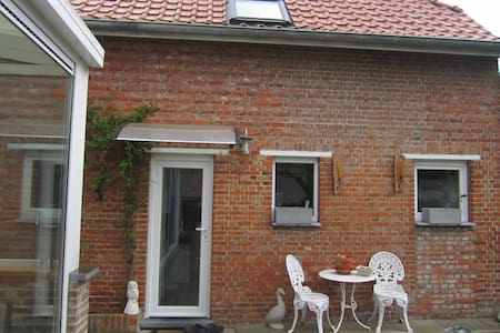 Aparte ruimte,openheid,rust - Belsele (Sint-Niklaas) - Stuga