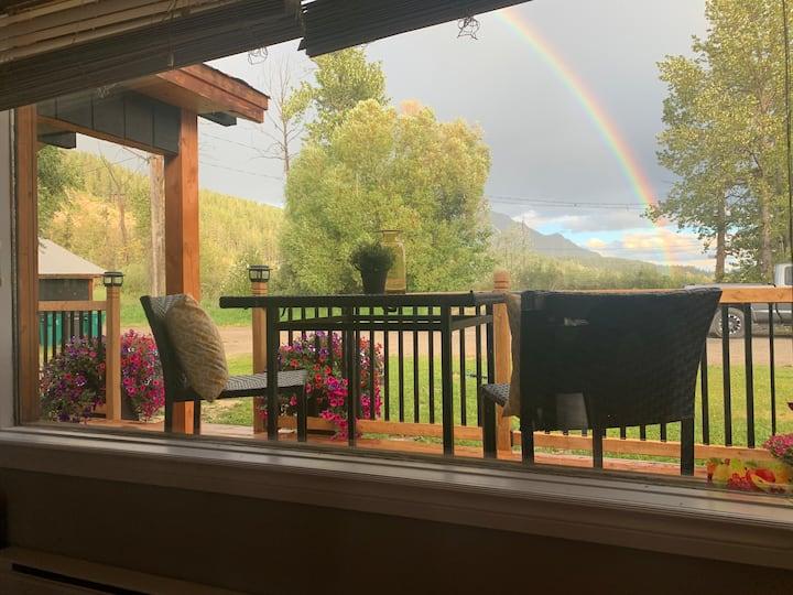 Beautiful mountain view, creek side  Reno suite