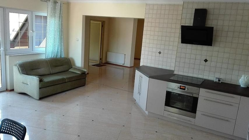 Szczytno Center Mazury 150m2 lake wiev apartment
