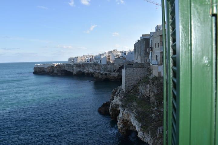 Casa a picco sul mare nel ❤️ del centro storico