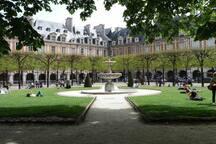 Place des Vosges Calm 50m2 nest