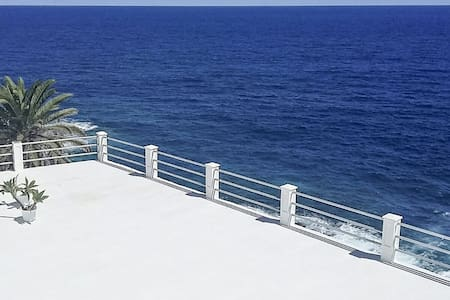 Charco Azul  La Palma frente al mar