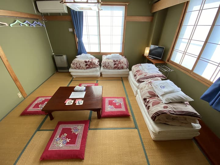 Nozawa Dream Central - 13sqm Japanese style room with shared bathrooms&toilets