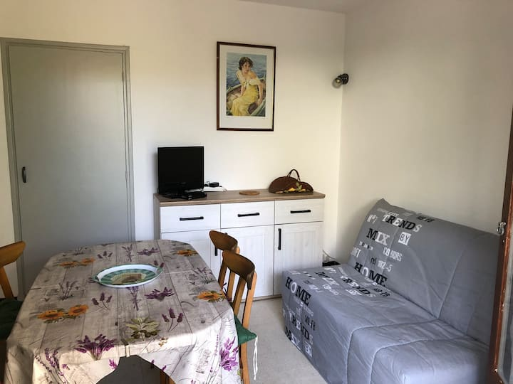 Appartement 60m2 avec jardin à 100 m de la plage