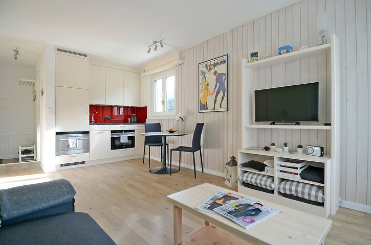 Studio 25 Davos Platz - wie ein Hotelzimmer