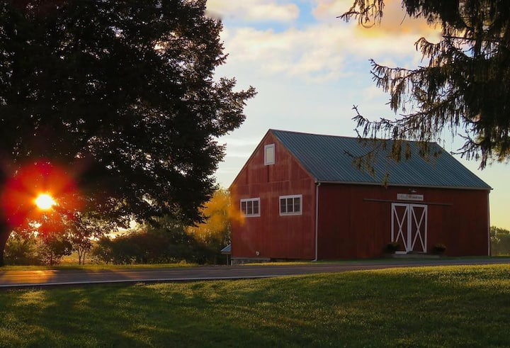 Rustic Barn Stay in Finger Lakes Region