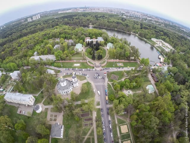 Половина квартиры посуточно/понедельно - Moskva - Daire