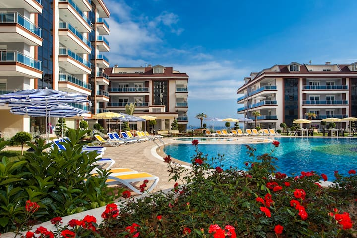 ALANYA, ANOTHER WORLD SİTESİNDE KİRALIK 2+1