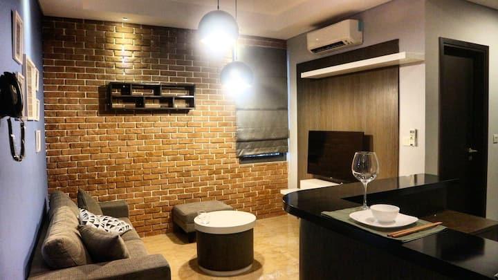 L'avenue designer apartment in heart of Jakarta