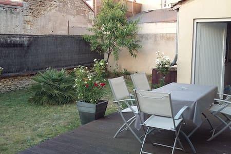 Maison de ville avec jardin clos - Rumah