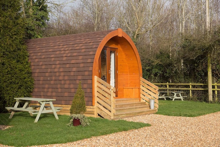 The Fox Den Glamping Pod at The Norman Knight
