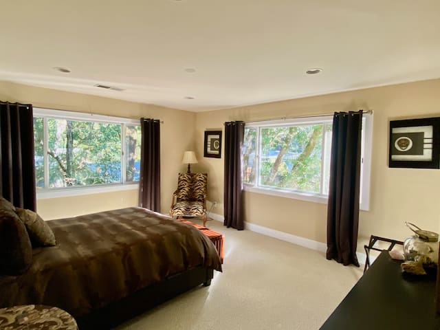 Bedroom #3 - has walk-in closet with twin bed for extra space if needed.