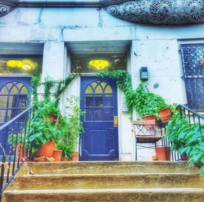 Picturesque upper west side exterior