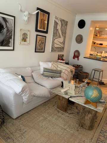 Chic Furnished Chelsea Loft Available For Sublet