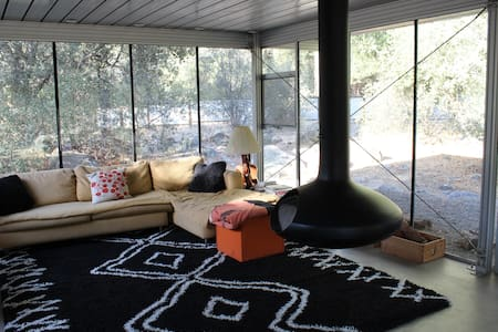 Glass House with river access! - Three Rivers