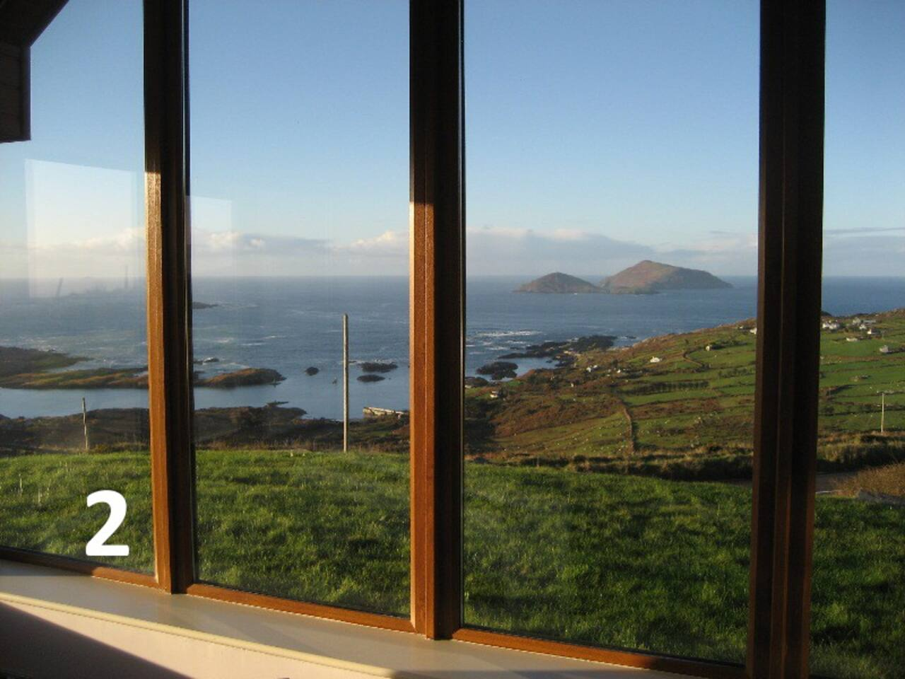 The best views along the Ring of Kerry...by popular vote -  this from our lounge