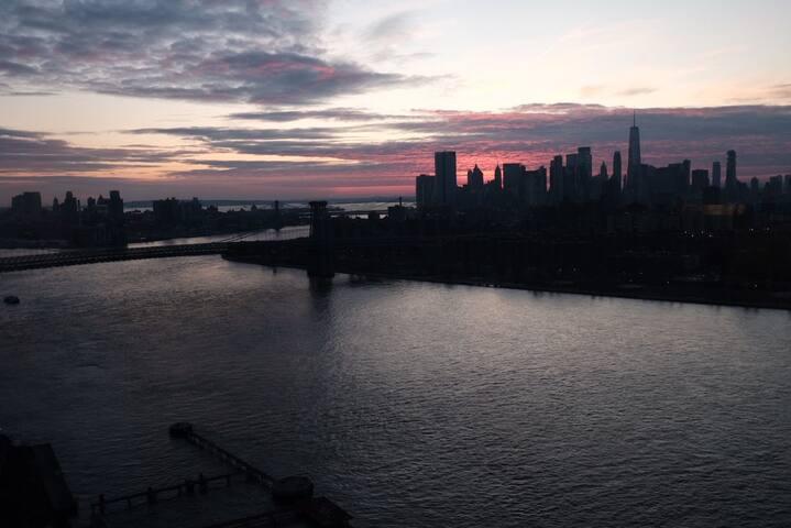 Cozy flat with stunning views of Manhattan