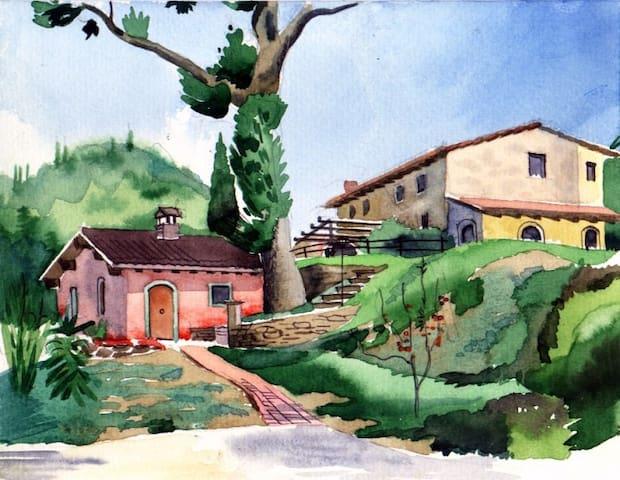 Casa Rosa - San Godenzo - บ้าน