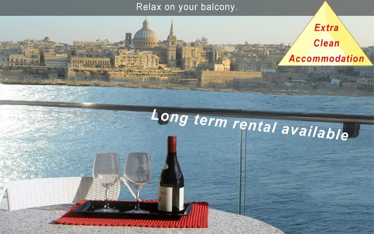 5* Your Perfect Holiday-3 bedroom Apartment Malta