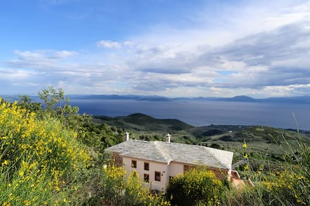 Luxury living in Alkistis Myth and Magic at Pelion - Agios Georgios Nileias - Vila