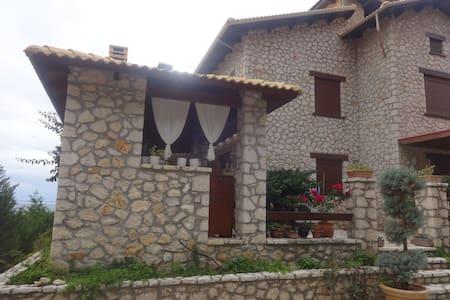Stone villa on the beach - Kastrosikia - Villa